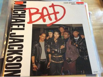 Michael Jackson - BAD 1987 EPC 651100 6