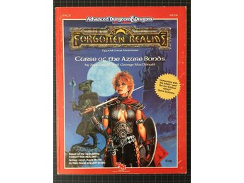 AD&D Forgotten Realms: Curse of the Azure bonds FRC2 9239 (gradering: Very Fine)