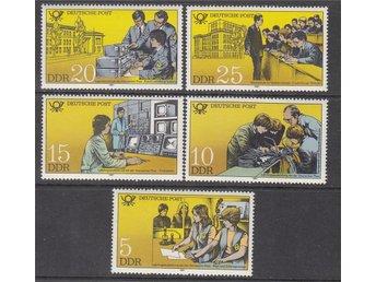 DDR 1981. Minr: 2583-87 * * - Njurunda - DDR 1981. Minr: 2583-87 * * - Njurunda
