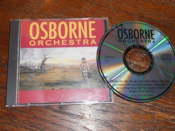 ANDERS OSBORNE - Osborne Orchestra, CD Little Great Music 1990