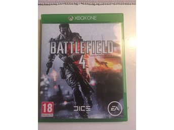 XBox One spel. Battlefield 4