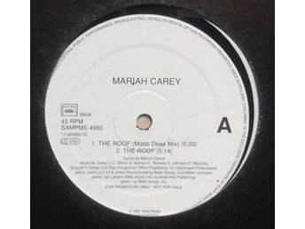 Mariah Carey title* The Roof / The Roof Mobb Deep RMX* 90's RnB/Hip-Hop 12""