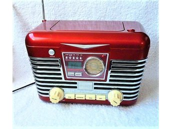 Rockabilly  Retro radio Princess - CD  Alarm  Super stereo Performance