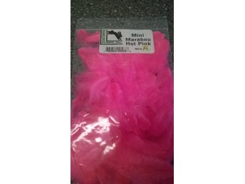 Mini Marabou Hot Pink (fluo)