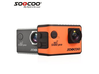 SOOCOO Voice Control S100Pro Wifi 4K Action Kameran-Orange