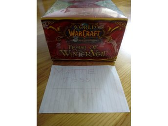 World of Warcraft - Feast of Winter Veil Collector's Set! BOOSTER BOX