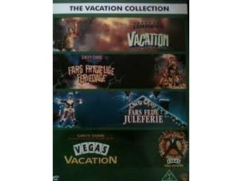 The Vacation Collectinn Ett päron till farsa 4 Disc  Norsk utgåva  Svensk Text.