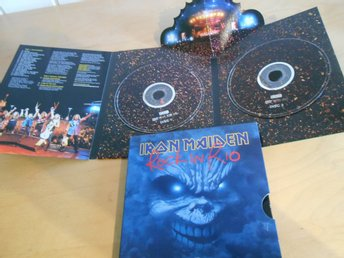 DVD BOX - Iron Maiden - ROCK IN RIO - 2 DISC