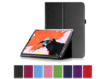 "Flip & Stand Fodral iPad Pro 11"" Smart Cover Sleep/Wake Up SVART"