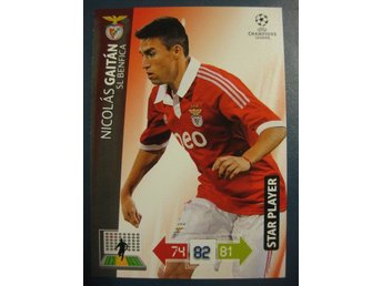 STAR PLAYER -  NICOLAS GAITAN -  BENFICA - CHAMPIONS LEAGUE 2012-2013