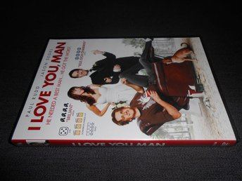 DVD: I Love You, Man. Komedi från 2009 med Jason Segel, Paul Rudd m.f. - Bromölla - DVD: I Love You, Man. Komedi från 2009 med Jason Segel, Paul Rudd m.f. - Bromölla