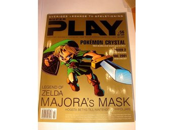 SUPER PLAY  HELT NY  OKT 2000 LEGEND OF ZELDA -Special !!!