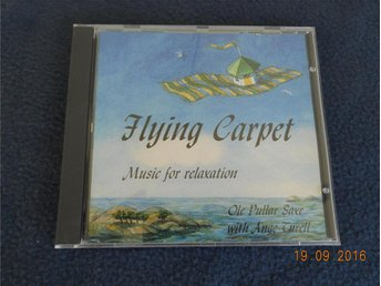 OLE PULLAR SAXE with ANGE TURELL - Flying Carpet CD synth Neptunus 1997