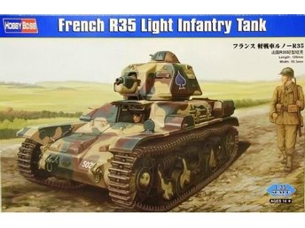 Hobby Boss 1/35 French R35 Light Infantry Tank