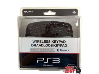 Sony Playstation 3 Bluetooth Keyboard (Engelska Tangenter)