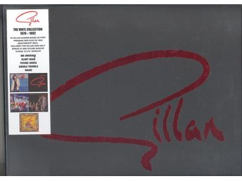 IAN GILLAN - THE VINYL COLLECTION 1979-1982 (7-LP) NY - älvsjö - IAN GILLAN - THE VINYL COLLECTION 1979-1982 (7-LP) NY - älvsjö