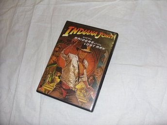 Indiana Jones and the Raiders of The  Lost Ark DVD Region 2 PAL Svensk text
