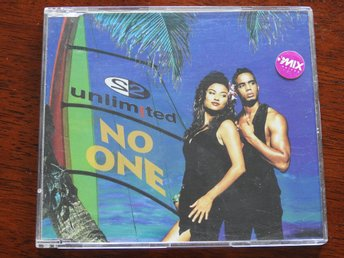 2 Unlimited -  No One CD Single 1994 Eurohouse