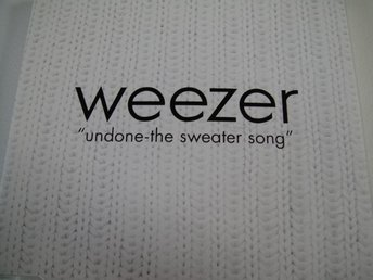 WEEZER Undone the sweater song  CD MAXI