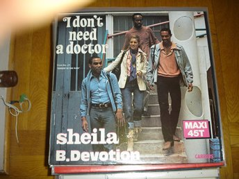 """12"" - Sheila B Devotion - I don´t need a doctor"