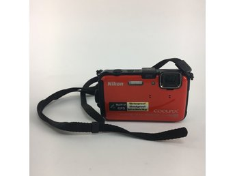 Nikon, Kamera, Coolpix AW100 42154133, Orange