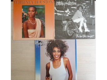 Whitney Houston  -paket med 3 lp