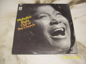 Mahalia - Sing the Gospel right out of the Church (LP)