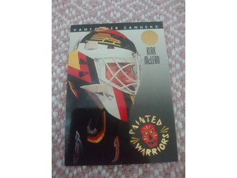 Leaf 1993/94 Painted Warriors insert - Kirk Mclean