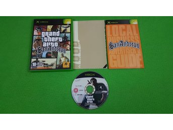 Grand Theft Auto San Andreas Xbox Första generationen