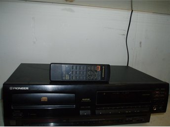 CD-spelare Pioneer/CD-player Pioneer/Compact disc player