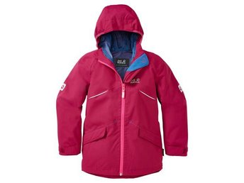 Jack Wolfskin Highland Jacket (Azalea Red) 128