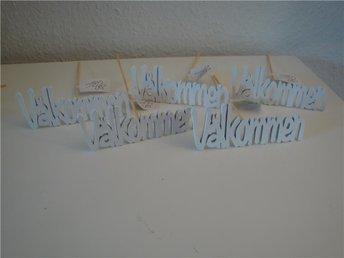 5 dekorationspinnar från ann design - Välkommen (NYA) - Tyringe - 5 dekorationspinnar från ann design - Välkommen (NYA) - Tyringe