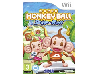Super Monkey Ball Step & Roll Nintendo Wii