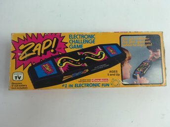 Coleco, Zap! Electronic Challange Game, Skick: Normalt