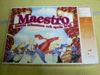 MAESTRO,ETT ORKESTERSPEL - Fällfors - MAESTRO,ETT ORKESTERSPEL - Fällfors