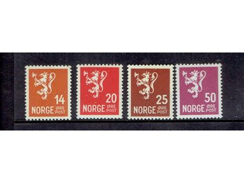 NORGE F 214+216+227+233   XX
