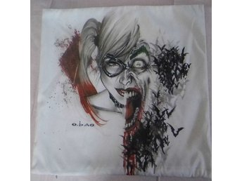Joker  Harlequin Kudde / Cushion Cover