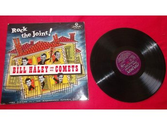 "Bill Haley and His Comets ""Rock the joint"" LP"