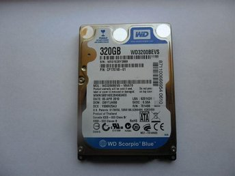 Western Digital 320Gb. Utrop 1:- !!!