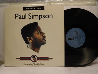 PAUL SIMPSON - EVERYBODY'S A STAR - MAXI