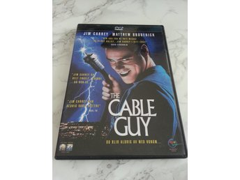 CABLE GUY (Svensk DVD) Jim Carrey, Mathew Broderick, Jack Black