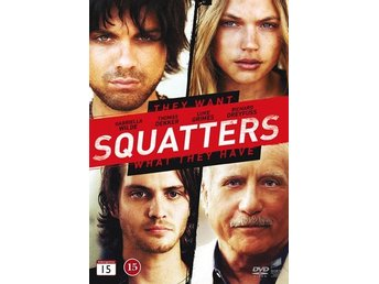 Squatters (DVD) Ord Pris 79 kr SALE