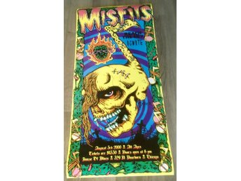 MISFITS HOUSE OF BLUES CHICAGO 2000 POSTER
