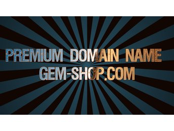 Premium Domain Name Gem-shop.com