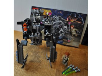 Helt komplett Legoset, Starwars, General Grievous Wheel Bike, 75040 - Uppsala - Legoset enlig bild från Starwars serien, , General Grievous' Wheel Bike (75040). 100% komplett inklusive minifigurer och instruktioner, men utan kartong. Inga extra bitar, utan det som krävs för att bygga setet ingår. Klossarna är i utmärk - Uppsala