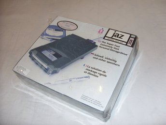 Iomega Jaz 2 GB Portable Ultra SCSI drive PC & Mac Ny och inplastad!