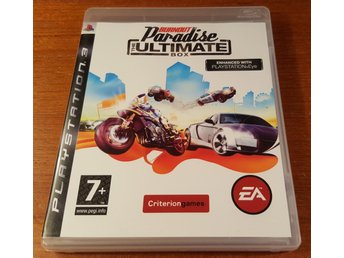 Burnout Paradise The Ultimate Box - Komplett - PS3 / Playstation 3