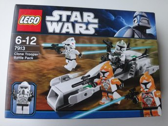 Star Wars Lego 7913 Clone Trooper Battle Pack Se Beskrivning