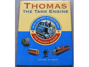Thomas the Tank Engine Engelska Barnbok 25 sagor Stories Childrens Book English