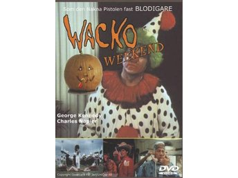 Wacko Weekend DVD 1988 Skräck